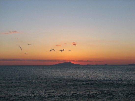 Hotel Giosue a Mare: Sunset