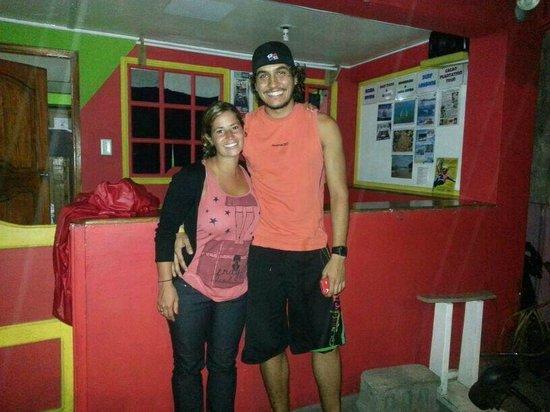 Tungara Hostel: tungara con Rawry