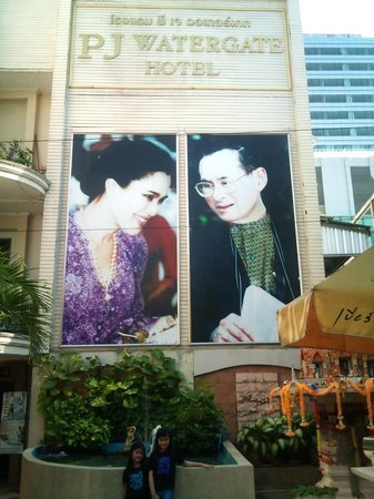 PJ Watergate Hotel: KING'S PHOTOS