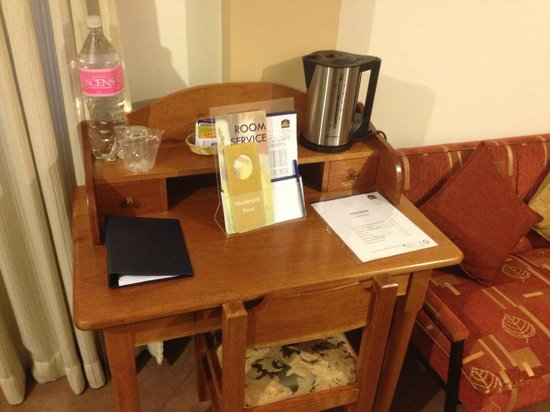 BEST WESTERN Los Andes De America: Room work station