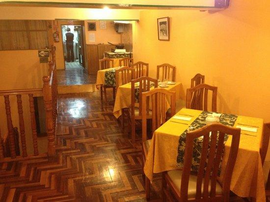 Los Andes De America Hotel: Restaurant
