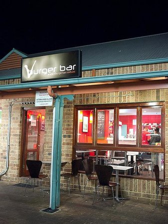 Vburger bar