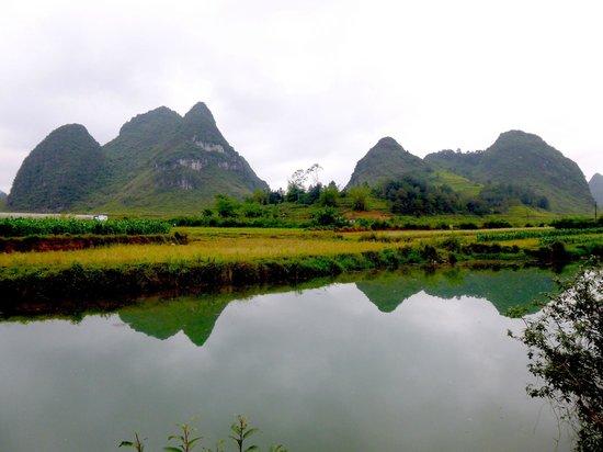 Yangmei Ancient Town of Nanning: scenery