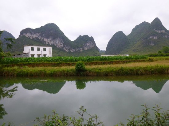 Yangmei Ancient Town of Nanning: fishing pood