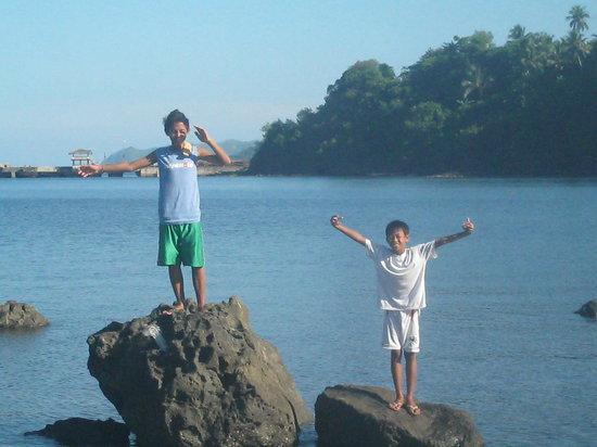 Calbayog City, Philippines: malajog beach