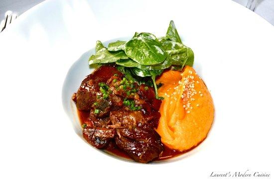 Laurent's Modern Cuisine: Beef Bourguignon