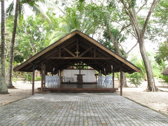 Virgin Beach Resort: The small chapel - reason why most weddings are booked here (which we weren't planning on using)