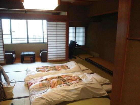 Yukai Resort New Maruya Hotel: 部屋の様子