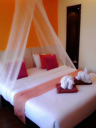 Samed Pavilion Resort: Bed room