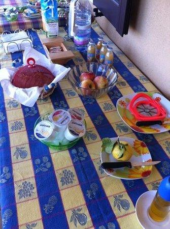 B&B Villa dei Giardini: petit déjeuner