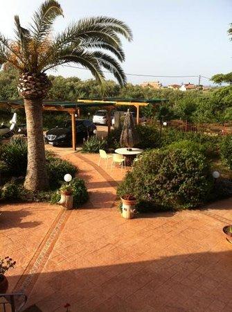 B&B Villa dei Giardini: vue de la terrasse