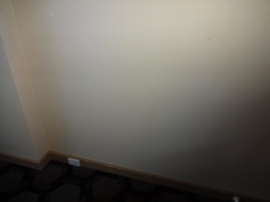 Rydges Capital Hill Canberra: Chipped paint