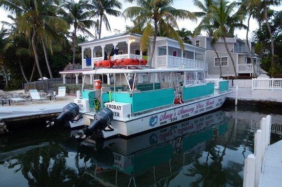 Amoray Dive Resort: Perfect Vessel