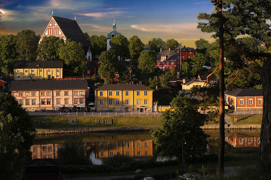 Old Porvoo (photo by Jukka Palmgren)