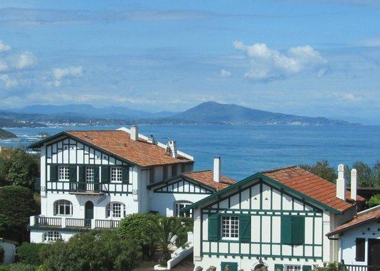 Hotel Itsas Mendia: vue (partielle) de la chambre 202
