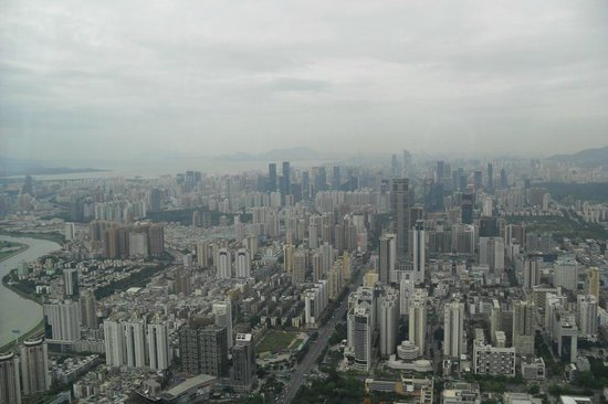 Shenzhen View To The West Picture Of Kingkey 100