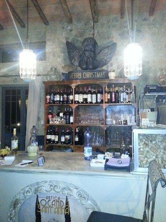 Antica Locanda Sant'Anna: Bancone