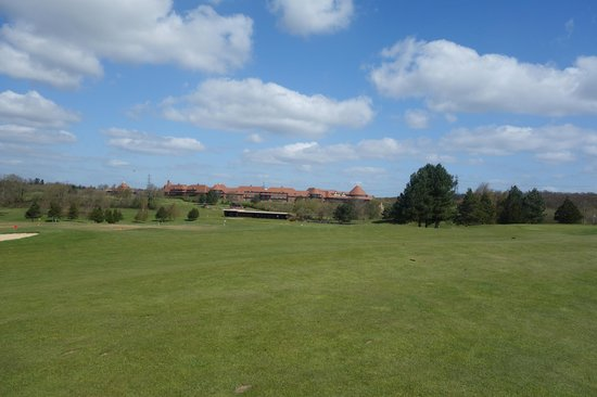 East Sussex National: Looking back from the West Course