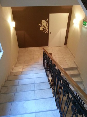 La Prima Fashion Hotel: Stairs to the breakfast room if you don`t want to use lift