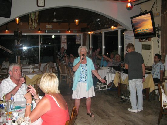 White Lady Cretan Family Taverna: AND YOU 'LL NEVER WALK  ALONE MARGARET