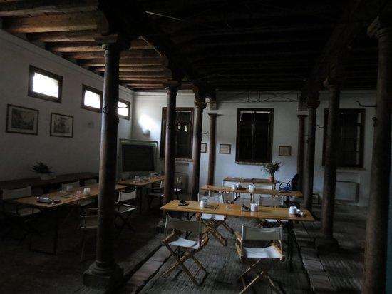 Agriturismo Barchessa Este: Antica stalla sistemata come sala per conferenze