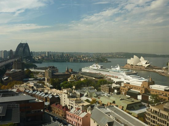 Shangri-La Hotel Sydney: Excellent views