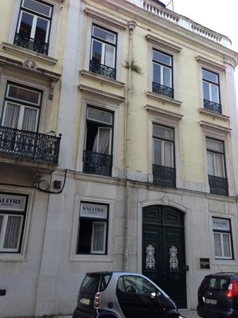 Salitre Hostel : building