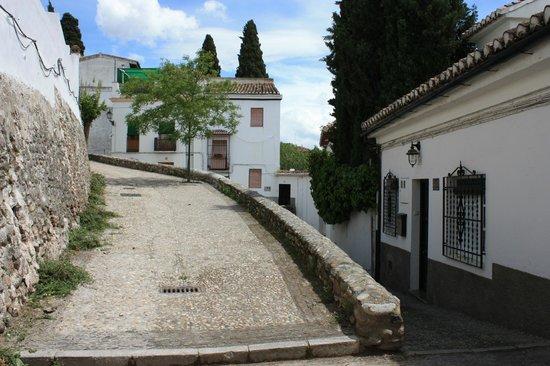 Las-Tres-Terrazas: Entrée de la chambre d'hôtes dans l'Albaicin