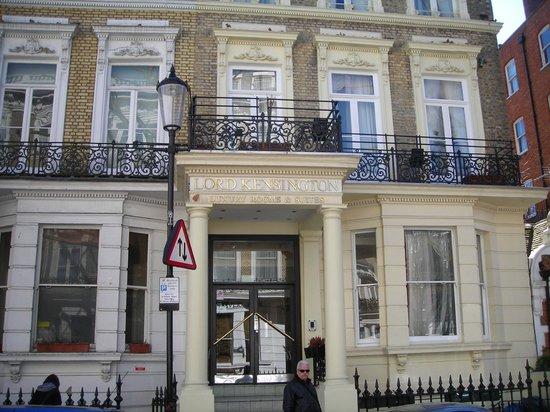 Lord Kensington Hotel : facciata hotel