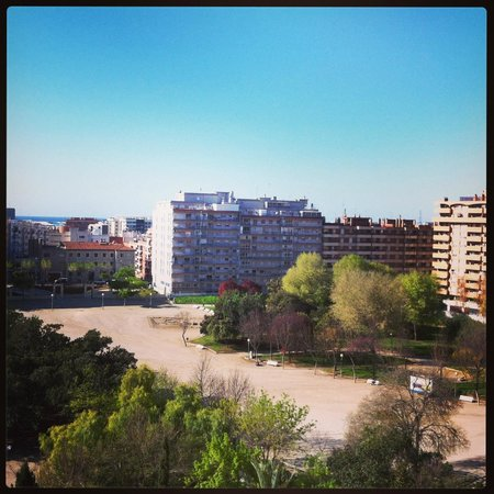 AC Hotel Tarragona : View from room at Park