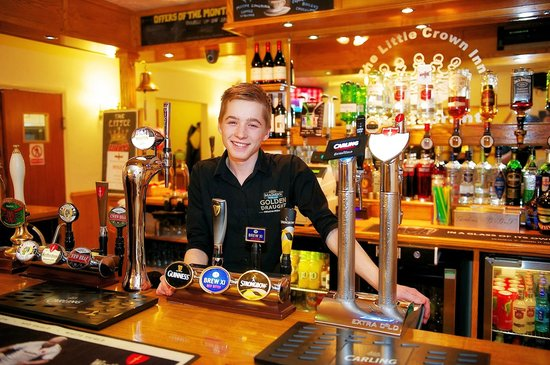 The Little Crown Inn & Restaurant: You'll always receive a warm welcome at The Little Crown!
