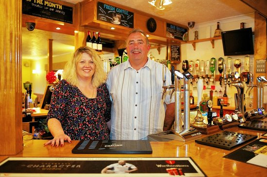 The Little Crown Inn & Restaurant: Alison & Gus have owed the pub for the past 10 years