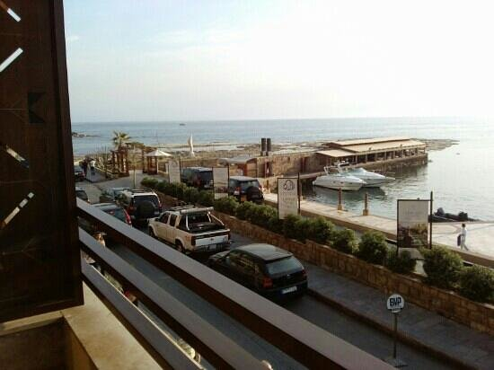 Byblos Sur Mer: view from my balcony