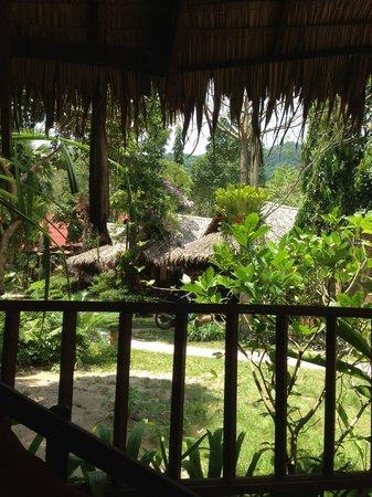 Baan Panburi Village At Yai Beach: View from my hut