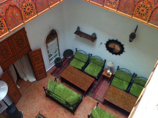 Riad Safir: Salon Marocain