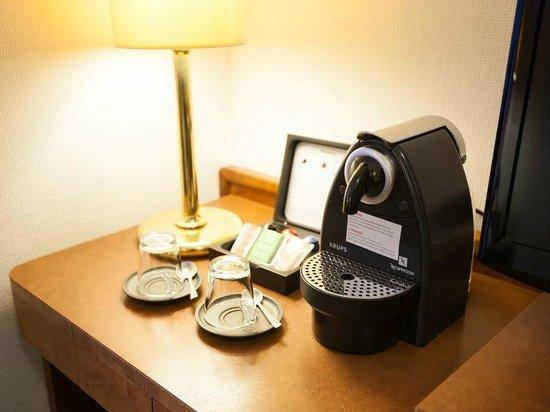 Hotel Klee am Park Wiesbaden : Nespresso Kaffeemaschine im Superior Zimmer