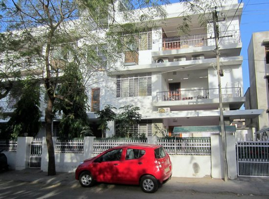 Bhola Bhawan Bed and Breakfast's quiet neighborhood