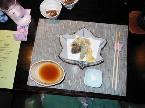 Taketoritei Maruyama: Kaiseki dinner