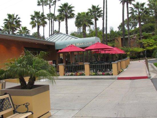 Best Western Seven Seas: Restaurant de l'hôtel