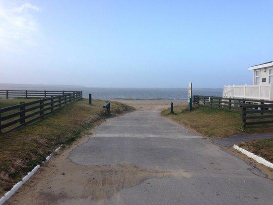 Carmarthen Bay Holiday Park - Park Resorts: Slipway to the beach