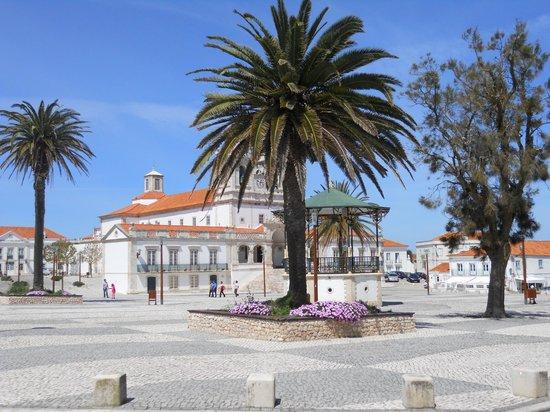Nazaré, Portugalia: sitio