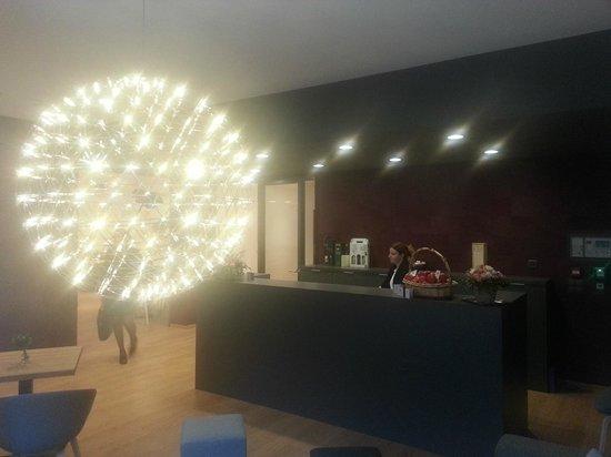 Reception Hotel du Nord Aigle Suisse