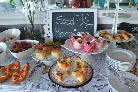 Atholl House: Breakfast