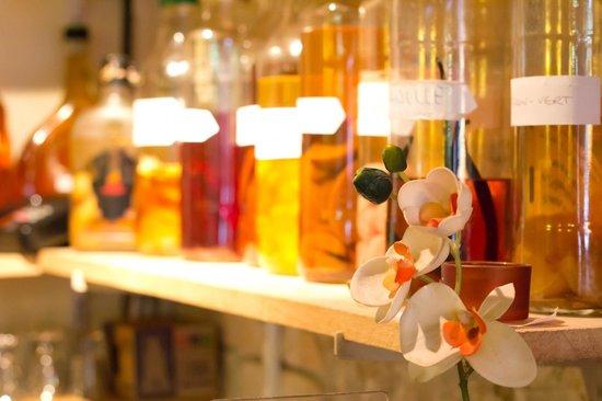 Restaurant L'Ile Maurice : Les fameux Rhums Arrangés