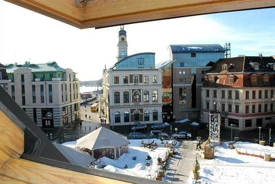 Doma Hostel: View out of window