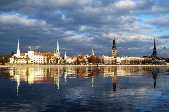 Doma Hostel: View of Riga