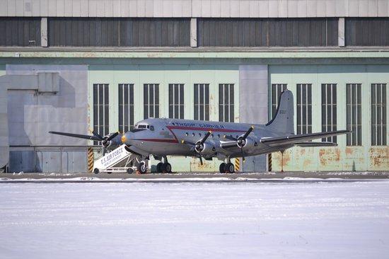 Flughafen Tempelhof: Plane