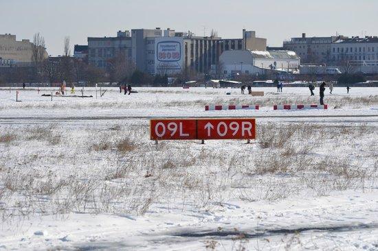 Flughafen Tempelhof: Runway