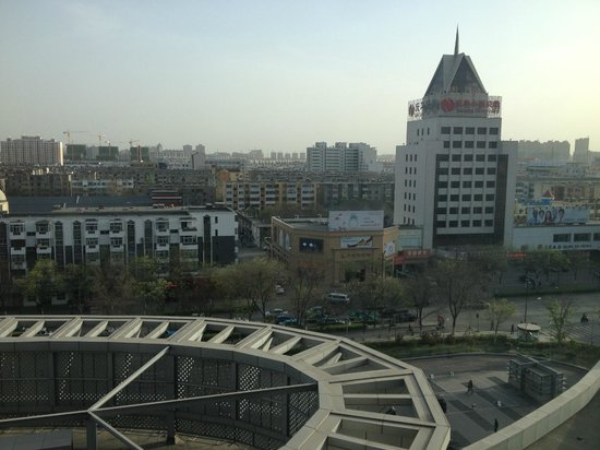 Holiday Inn Yinchuan International Trade Center : View from my room at the front of the hotel