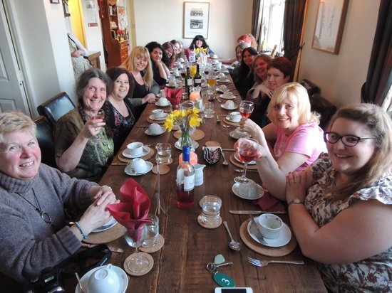 The Tree Relaxation Retreat: First night dinner